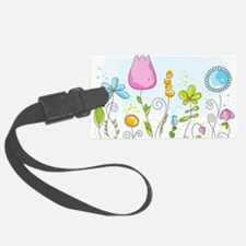 Spring Flowers Luggage Tag