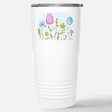 Spring Flowers Thermos Mug