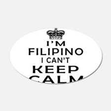 I Am Filipino I Can Not Keep Calm Wall Decal