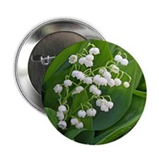 """lilyofthevalley 2.25"""" Button"""