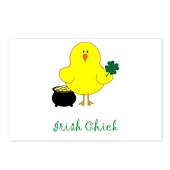 Irish Chicks Postcards (Package of 8)