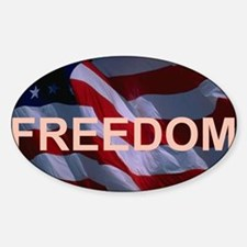 Freedom Banner Decal