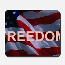 Freedom Banner Mousepad