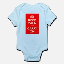 KEEP CALM and CARRY ON - Infant Bodysuit
