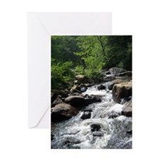 Rough waters Greeting Card