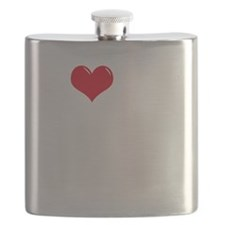 I-Love-My-Chorkie-dark Flask