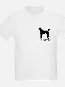 Obey the POODLE! Propaganda Kids T-Shirt