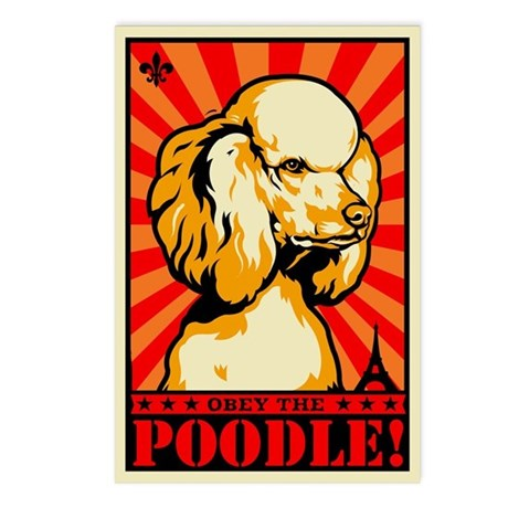 Obey the POODLE! Postcards (Package of 8)