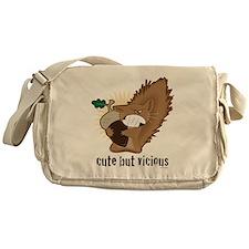 Squirrel Messenger Bag