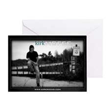 Kirk McFee poster Greeting Card