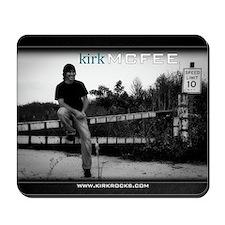 Kirk McFee poster Mousepad
