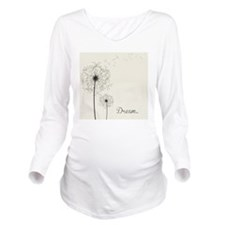 Dandelion  Long Sleeve Maternity T-Shirt