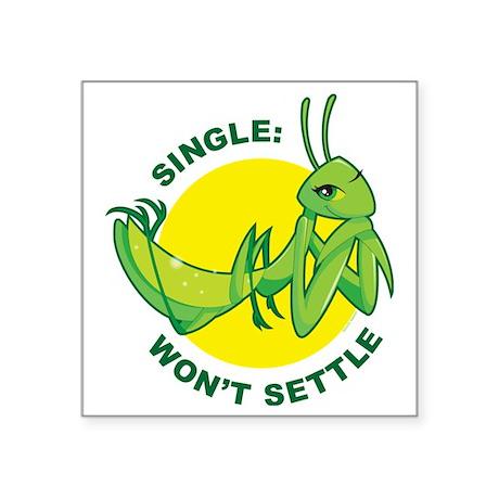 """Single Square Sticker 3"""" x 3"""""""