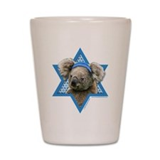 Hanukkah Star of David - Koala Shot Glass