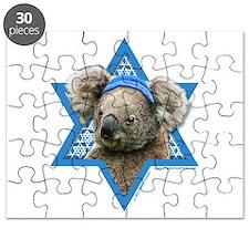 Hanukkah Star of David - Koala Puzzle