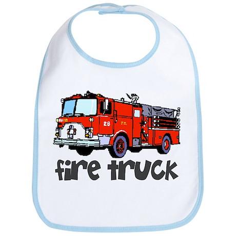 Firetruck Bib