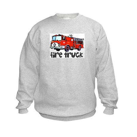 Firetruck Kids Sweatshirt