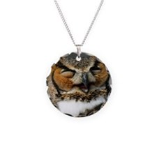Laughing  Owl Necklace