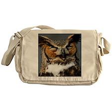 Laughing  Owl Messenger Bag