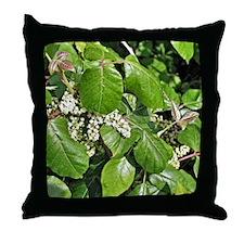 Poison Ivy Flower Throw Pillow