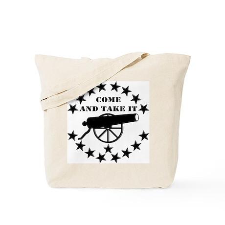 Cannon Come And Take It Tote Bag