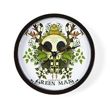 BloodSucker Head Green Man Wall Clock