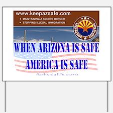 keep az safe Yard Sign
