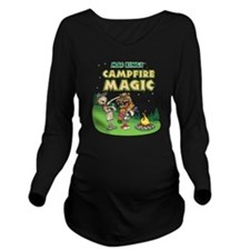 Campfire shirt 2 Long Sleeve Maternity T-Shirt