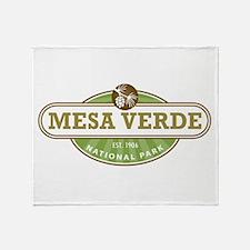 Mesa Verde National Park Throw Blanket