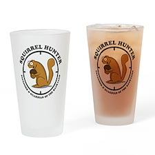 squirrel_hunter_v1 Drinking Glass
