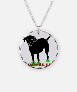 Rear Leg Tripawds Three Legg Necklace