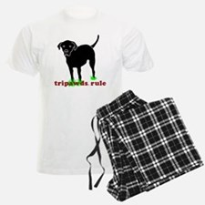 Rear Leg Tripawds Three Legge Pajamas
