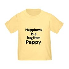 Happiness Is A Hug From Pappy T-Shirt