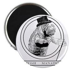 Hugh Manatee Magnet