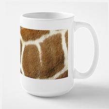 Giraffe print Mugs