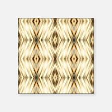 "SAFARI MODERN champagne GOL Square Sticker 3"" x 3"""