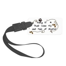 New New Moon Jacobs Shorts Luggage Tag