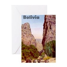 Bolivia7 Greeting Card