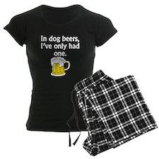 In Dog Beers pajamas