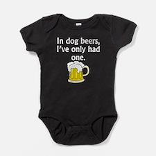 In Dog Beers Baby Bodysuit