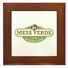 Mesa Verde National Park Framed Tile