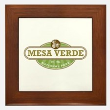 Mesa Verde National Park Framed Tile