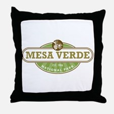 Mesa Verde National Park Throw Pillow