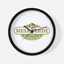Mesa Verde National Park Wall Clock