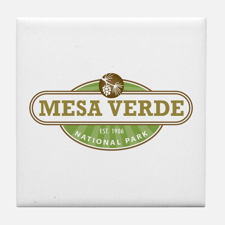 Mesa Verde National Park Tile Coaster