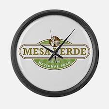 Mesa Verde National Park Large Wall Clock