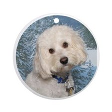 Finn Circle 2 Round Ornament
