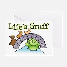 Goats Gruff Greeting Card
