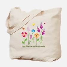 Love Colors Tote Bag