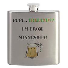 Minnesota Beer Flask